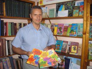 зустріч із письменником Сергієм Гридіним